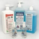Засоби для дезінфекції, антисептики