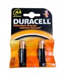 DURACELL Basic AA батарейки алкалиновые 1.5V LR6 2шт Бельгия