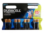 DURACELL TurboMax AA батарейки алк. 1.5V LR6 8шт Бельгия