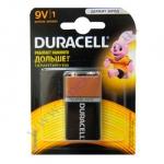 DURAСELL Basic 9V-крона бат. алкалиновые 9V 6LR61 1шт Бельгия