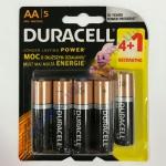 DURAСELL Basic AA бат. алкалиновые 1.5V LR6 4+1шт