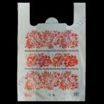 Пакеты 37+18х58см/25 Вышиванка-цветы 50шт