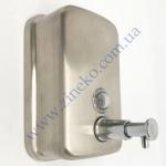Дозатор SD-280 (CD-500SAT) для жидкого мыла (0,5л) нержавеющая с