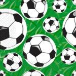 Салфетки 24х24 3-х слойные Марго футбол
