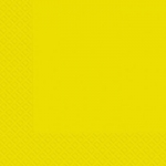 Салфетки 33х33 Марго желтые