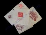 Салфетки 25*25 80шт с логотипом заказчика