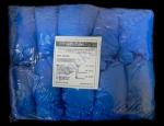 Бахилы синие из хлорированного полиэтилена 100 пар