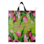 Пакет петля 38*42см/80 Тюльпаны 25шт