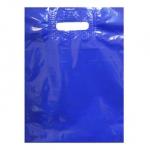 Пакет банан 30*40см+3/50 50шт синий УР
