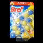 БРЕФ гель-триопак 3*4шарика д/унитазов 3*50мл лимон
