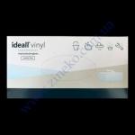 Перчатки IDEAL VINYL без пудры прозрачные в боксе разм. L 100шт