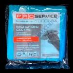 Набор микрофибр PRO-18303400 3шт д/уборки универс. 38х38см синие