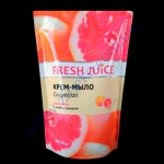 Дойпак-пакет крем-мыло Fresh Juice грейпфрут 460г