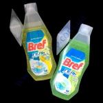 Бреф гель (зеленое яблоко, лимон) с корзинкой для унитазов Б-360