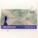 Перчатки SFM фиолетовые нитрил без пудры 100шт р.S в боксе 7%