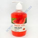 Гель-мыло Fresh Juice арбуз+масло кокоса 460г с дозатором