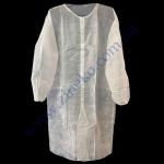 Халат нетканый (на липучках) белый 5шт/р. XL TX0006