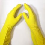 Перчатки Хоз латексные р.М-средний 24шт-12пар К