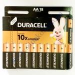 DURACELL Basic AA батарейки алк. 1.5V LR6 18шт Бельгия