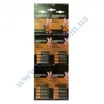 DURACELL Simply AA батарейки алк. 1.5V LR06 16шт(4*4шт)отрывной