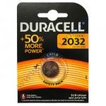 DURACELL плоская батарейка литиевая 3V 2032 1шт Китай