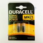 DURACELL мини-мини батарейки алк. 12V MN21 для электро-приборов