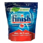 Finish ALLin1 MAX таблетки (22шт) для посудомоечных машин ПГХ