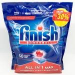 Finish ALLin1 MAX таблетки 50шт для посудомоечных машин ПГХ