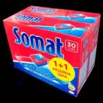 SOMAT таблетки классик (30+30шт) для посудомоечных машин