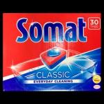 SOMAT таблетки классик 30шт для посудомоечных машин