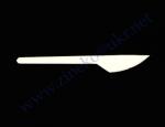 Нож-АС 16,5см белый 90шт Укр