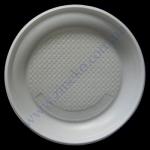 Тарелка-0017 ОРН d=16см белая 100шт ХРК