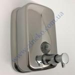 Дозатор 1601С для жидкого мыла (0,5л) нержавеющая сталь глянец