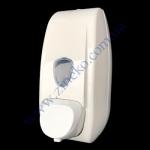 Дозатор 704 мыла-пены 0,5 л белый пластик