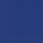 Салфетки 33х33 Марго синие