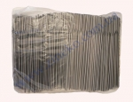 Трубочки черно-белые с изг. 24см 1000шт