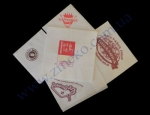 Салфетки 25*25 2сл 1000шт с логотипом заказчика