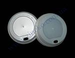 Крышка РЕ д/стакан (бум. 340мл) 100шт белая