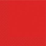 Салфетки 33х33 новые Марго 50шт 2сл красные (18) Укр.