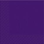 Салфетки 33х33 Марго 20шт темно-фиолетовые