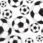 Салфетки 33х33 Футбольные мячи 3-х сл. Марго 50шт