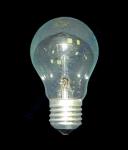 Электрическая лампа 100Вт манжет Искра