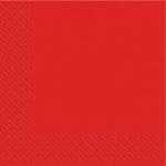 Салфетки 33х33 новые Марго 200шт 2сл красные
