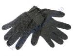 Перчатки 608 серые (ладошка-нанесение ПВХ серое) 2 нитки ПЕ30%/Х