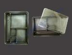 Емкость ПС-610ДБ+крышка ПС-61К (деления для суши) 180шт