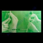 Перчатки Мед MEDICARE латекс в боксе разм.L 100шт (НДС-7%)