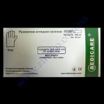 Перчатки MEDICARE виниловые прозрачные в боксе размер L 100шт