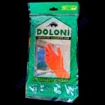Перчатки DOLONI хозяйственные размер S-7 пара (12з)