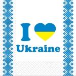 Салфетки 33х33 Украина Марго 20шт