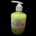 Жидкое крем-мыло Зеленая Аптека 460мл (леч. травы) миндаль+овсян
